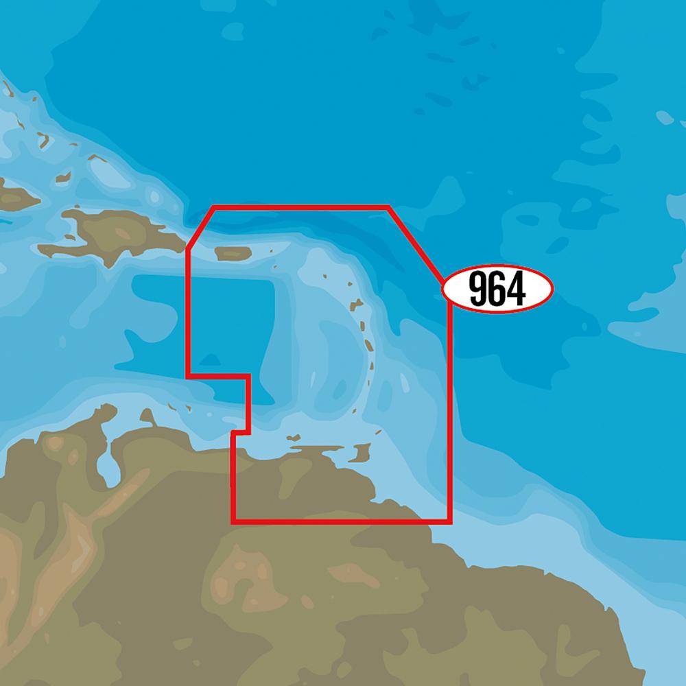 C-MAP MAX-N+ NA-Y964 - Puerto Rico to Rio Orinoco