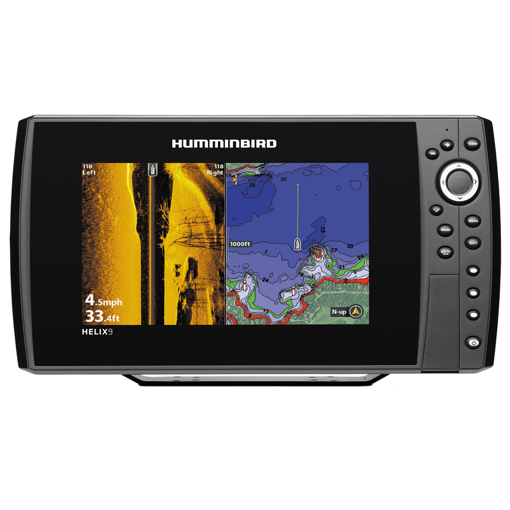 humminbird helix 9 si/gps combo, Fish Finder