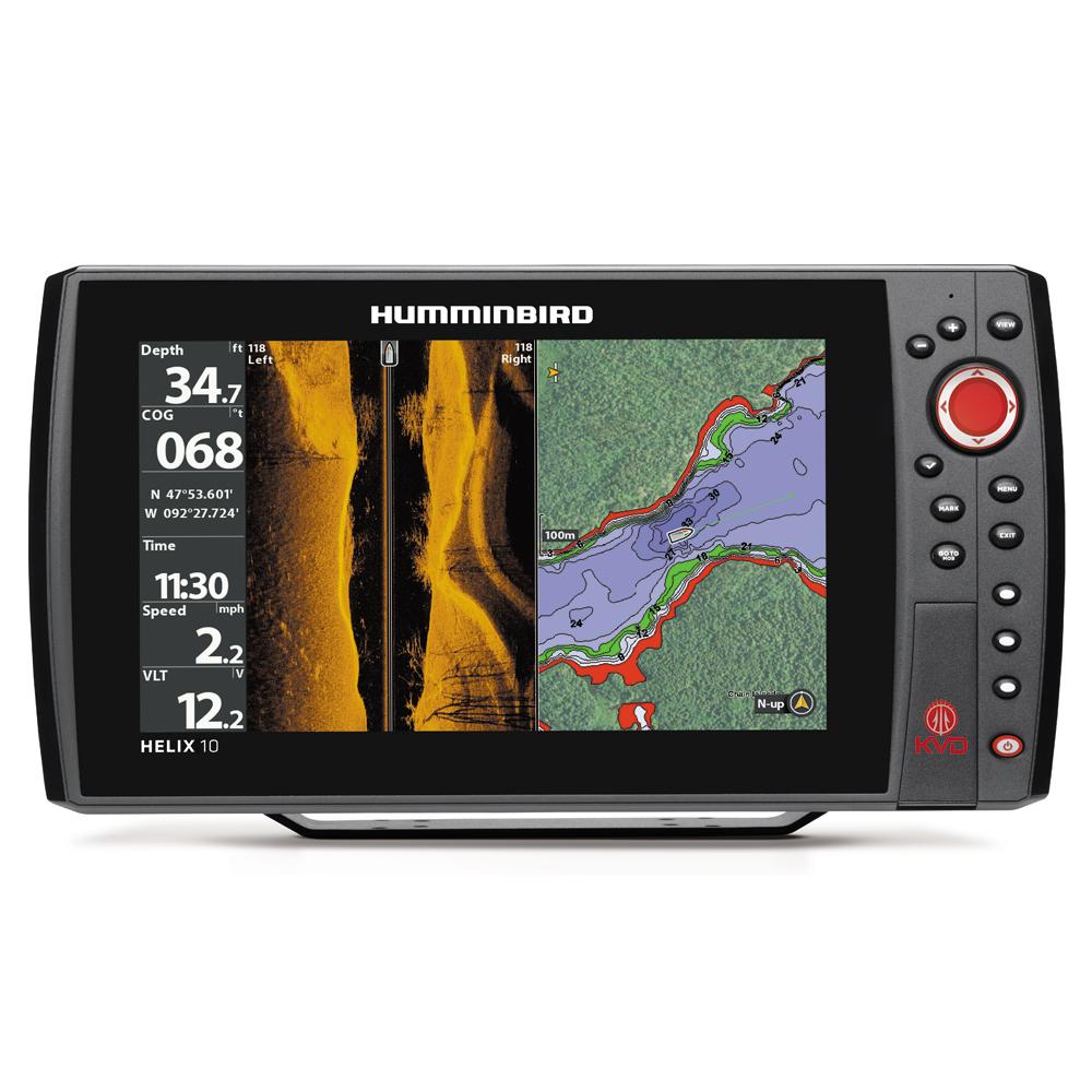 Humminbird HELIX 10 SI/GPS KVD Combo