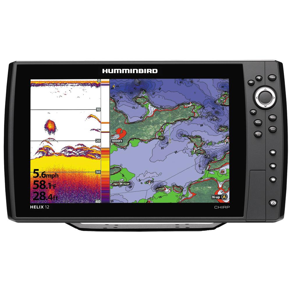 HUMMINBIRD 410000-1 HELIX 12 CHIRP GPS