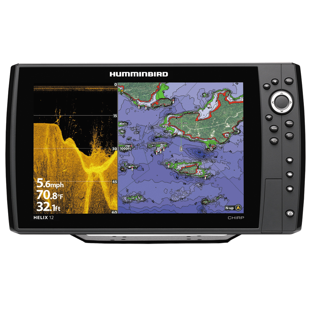 Humminbird HELIX 12 CHRIP DI/GPS Combo