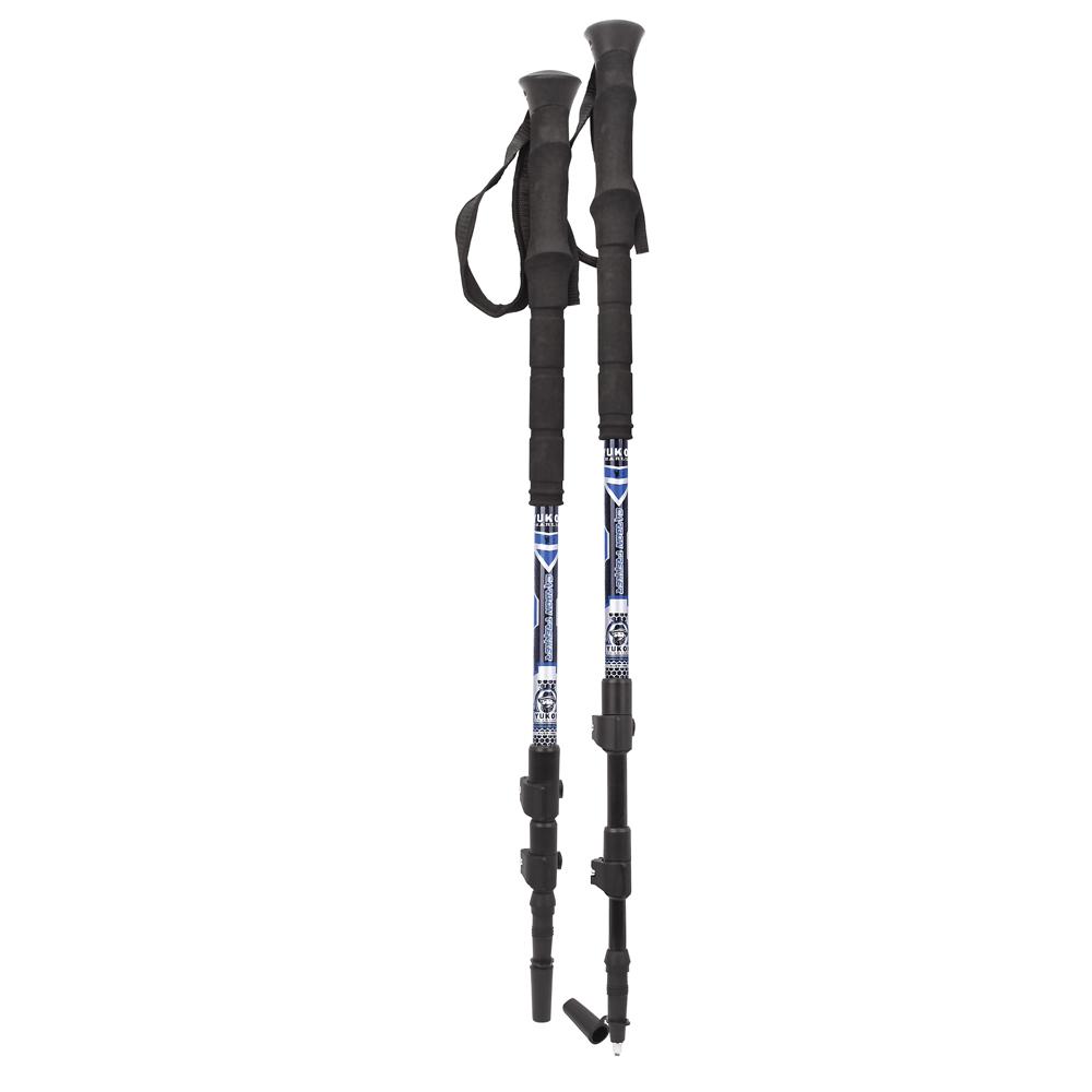 Yukon Charlie's Carbon Lite Trekking & Snowshoe Pole - Blue