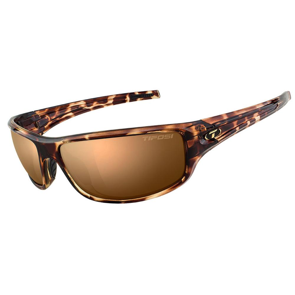 Tifosi Bronx Brown Polarized Lens Sunglasses - Tortoise