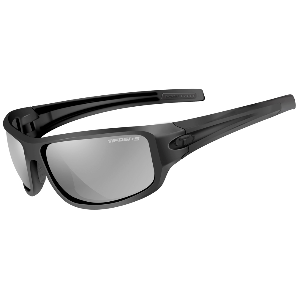 Tifosi Bronx Smoke Tactical Collection Lens Sunglasses - Matte Black
