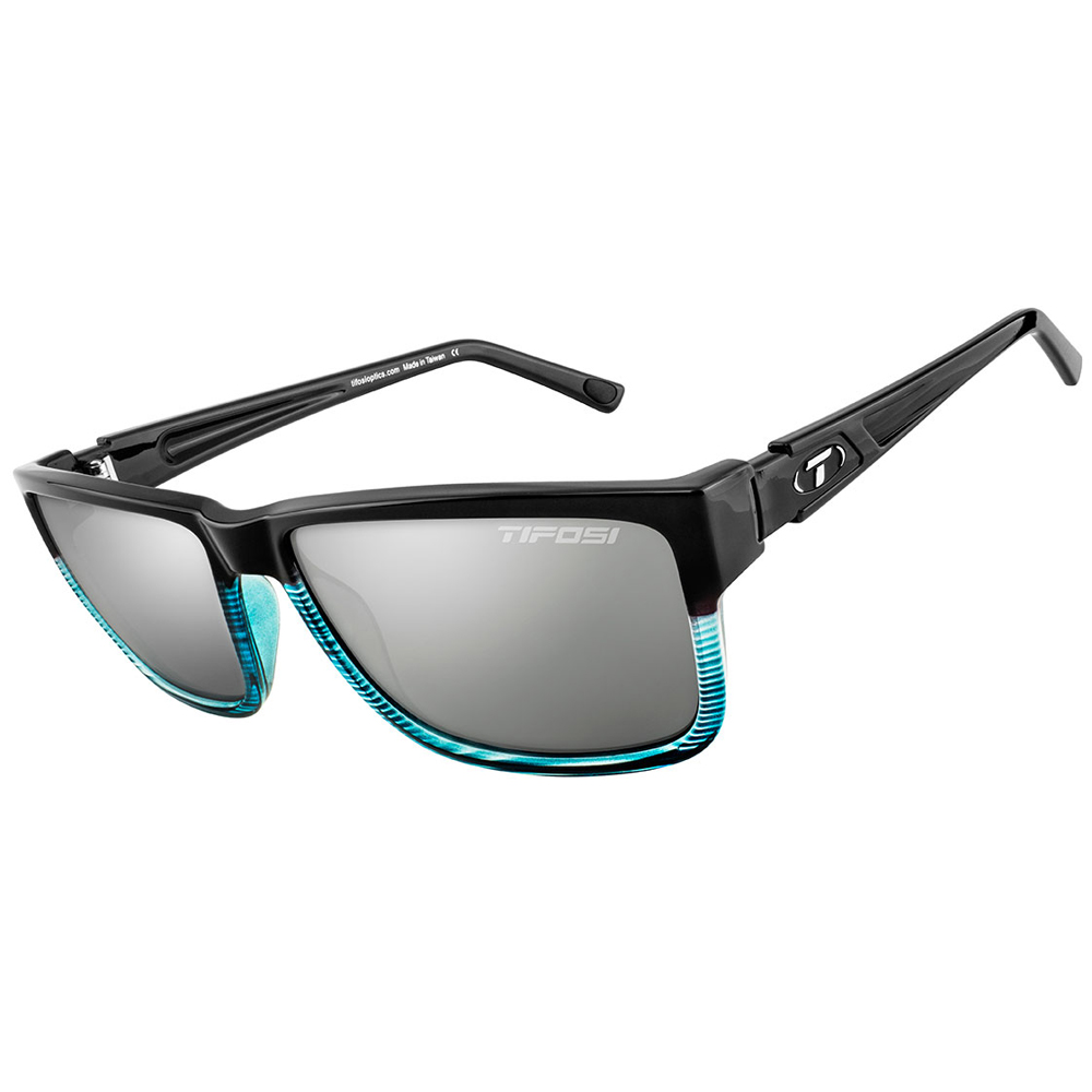 Tifosi Hagen XL Smoke Lens Sunglasses - Blue Fade