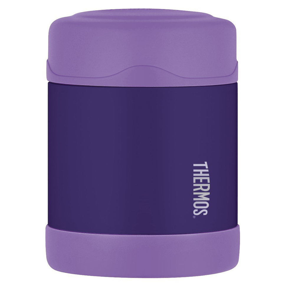 Thermos FUNtainer™ Stainless Steel, Vacuum Insulated Food Jar - Purple - 10 oz.