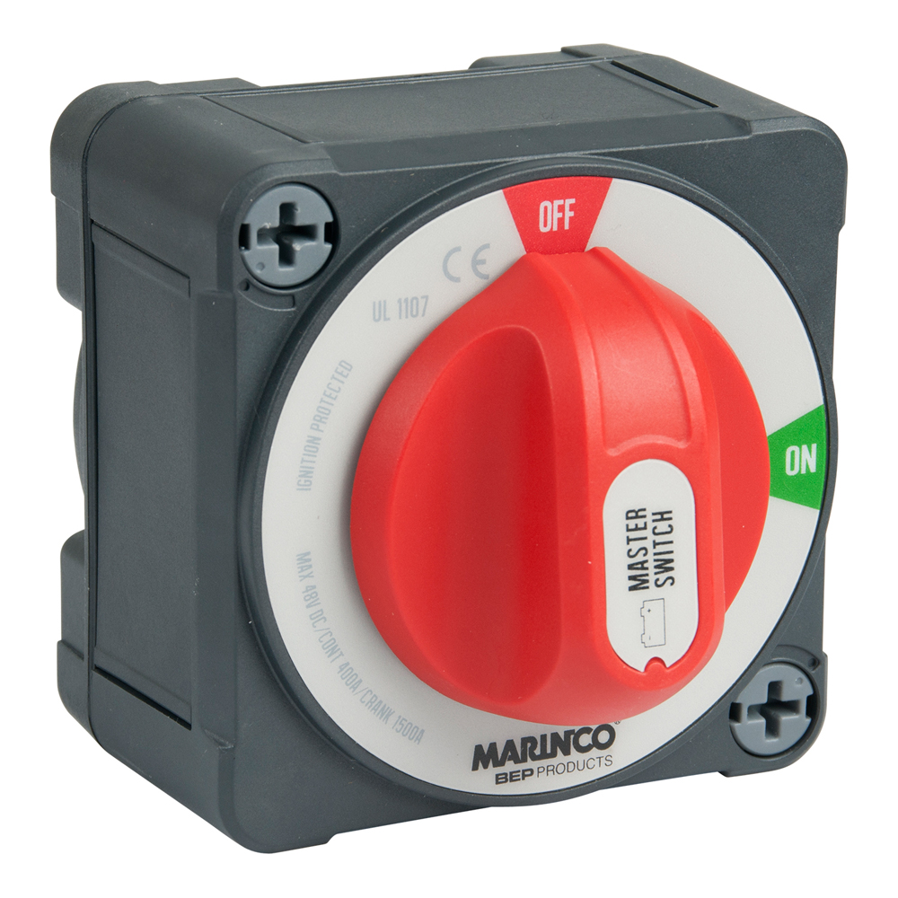 BEP Pro Installer 400A EZ-Mount Double Pole Battery Switch - MC10
