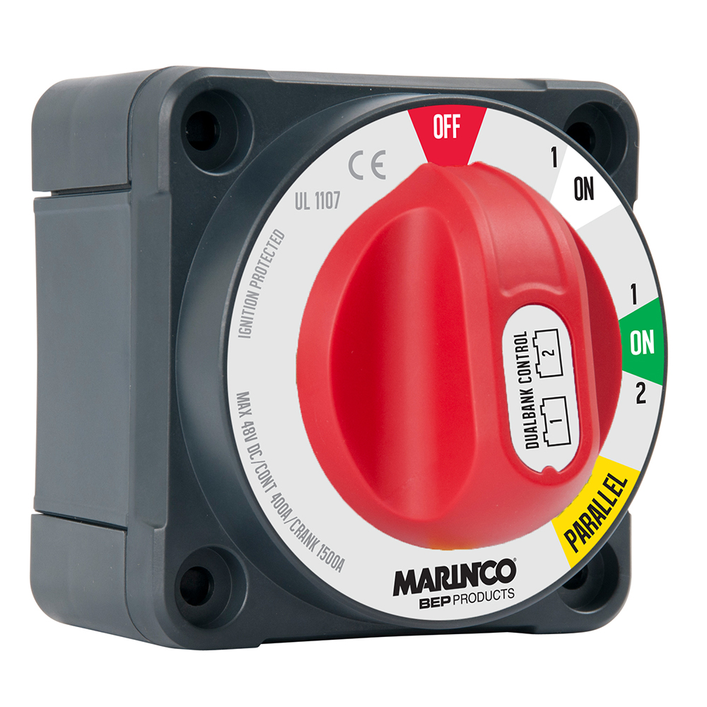BEP Pro Installer 400A Dual Bank Control Switch - MC10
