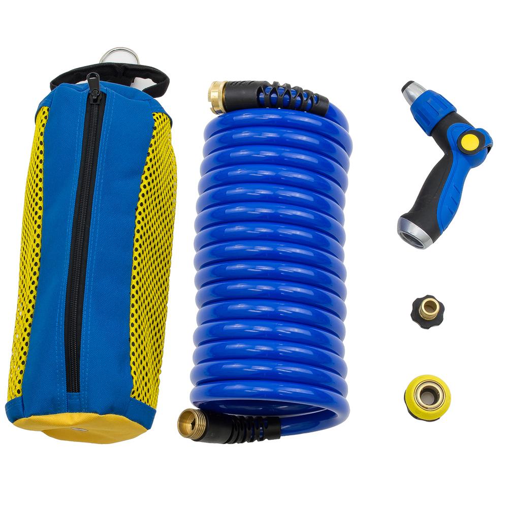 Hosecoil Storage System w/20' Hose & WN810U Nozzle
