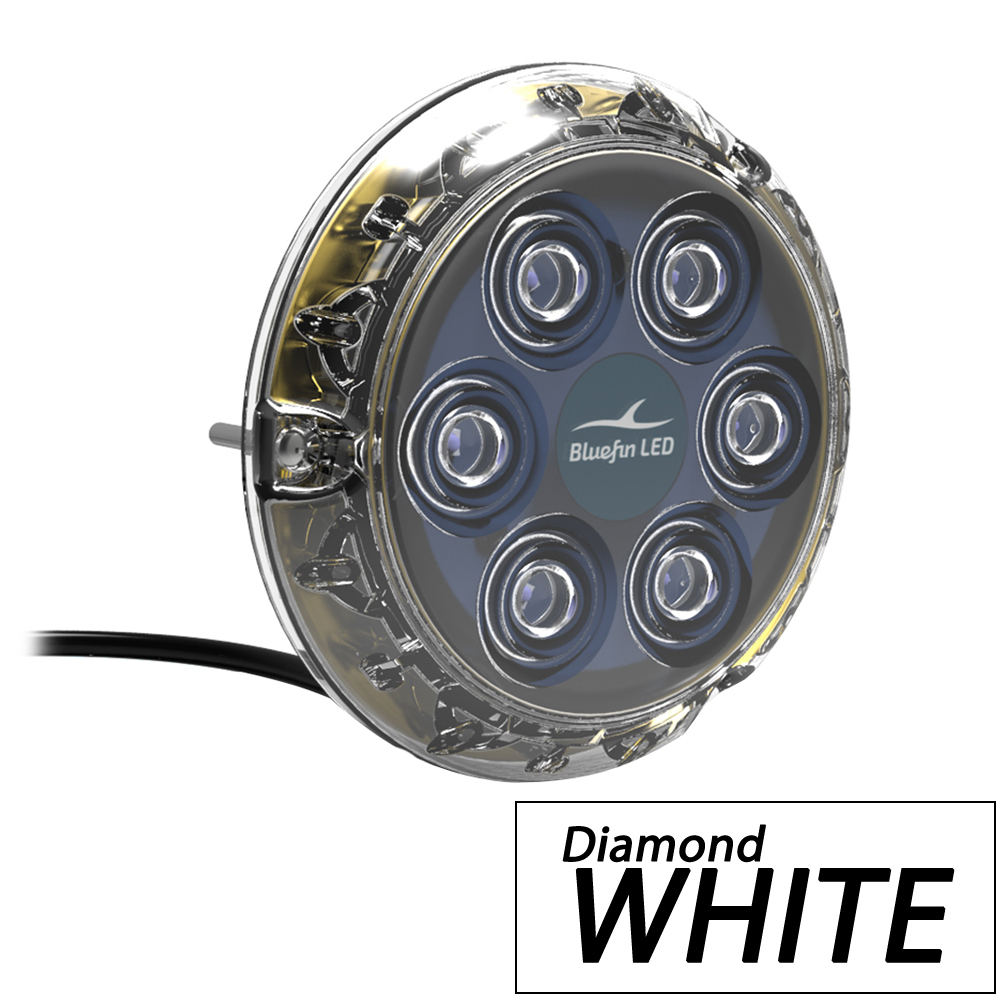 Bluefin LED Piranha P6 Nitro SM Underwater Light 24V - Diamond White
