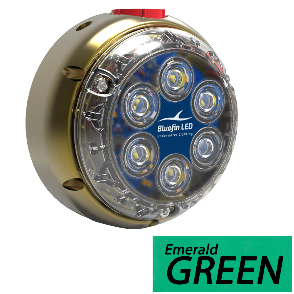 Bluefin LED DL12 Industrial Dock Light - Emerald Green