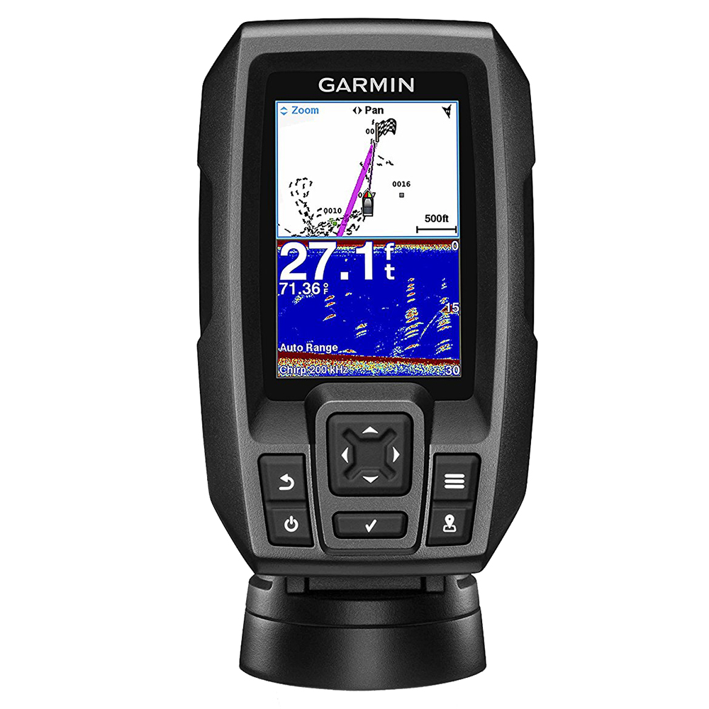 Garmin STRIKER™ 4 FishFinder w/4-Pin, 77/200kHz TM Transducer
