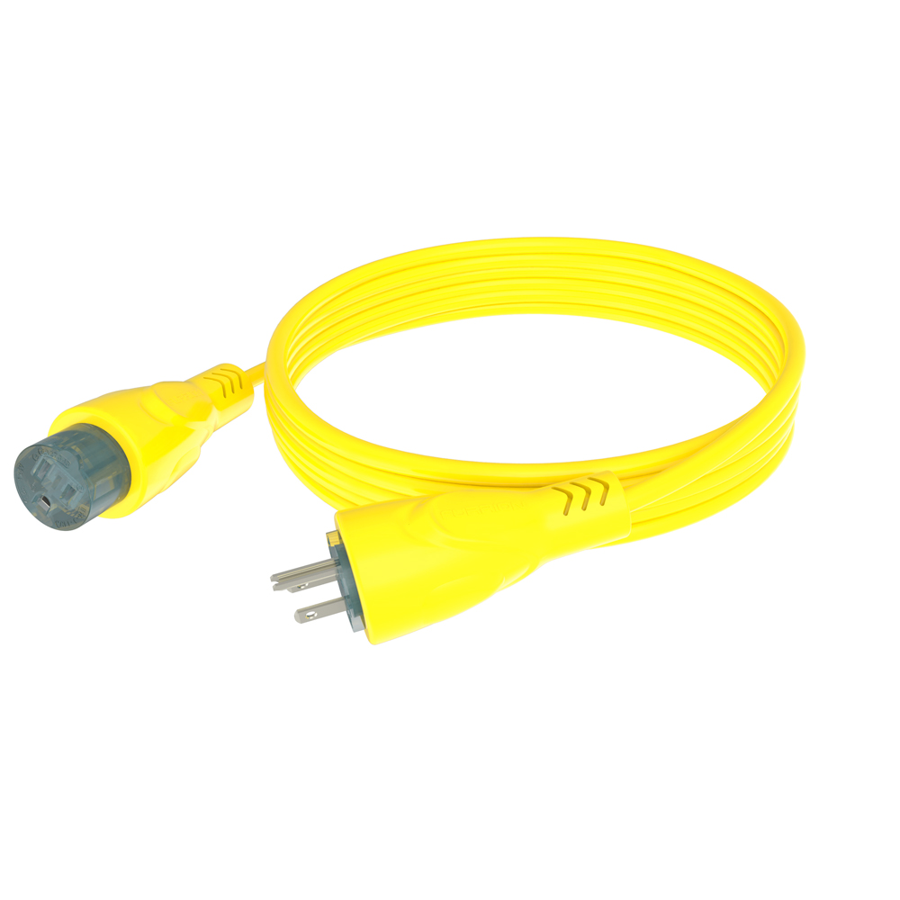 Furrion 15A Cordset 50ft Yellow