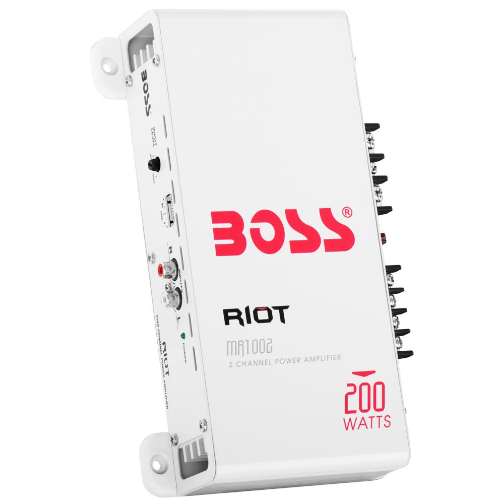 Boss Audio MR1002 2-Channel Power Amplifier
