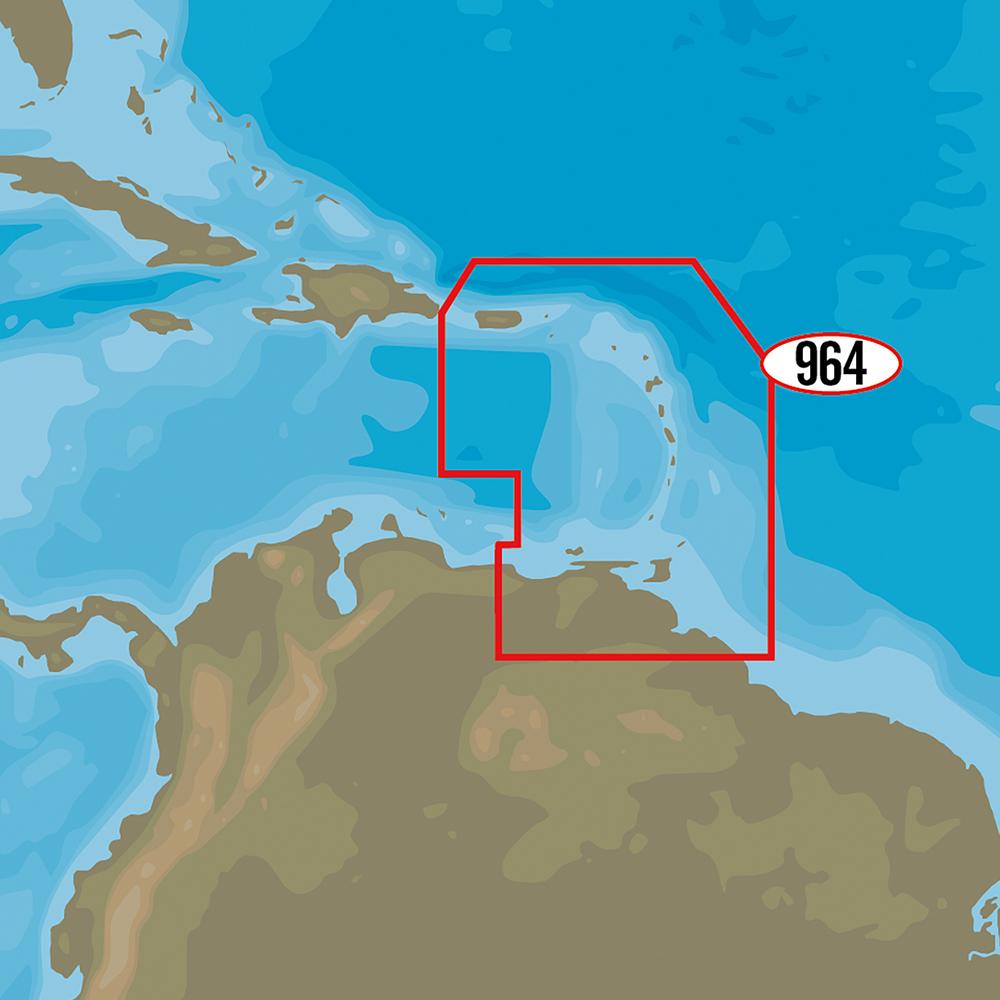 C-MAP 4D NA-D964 - Puerto Rico to Rio Orinoco Local
