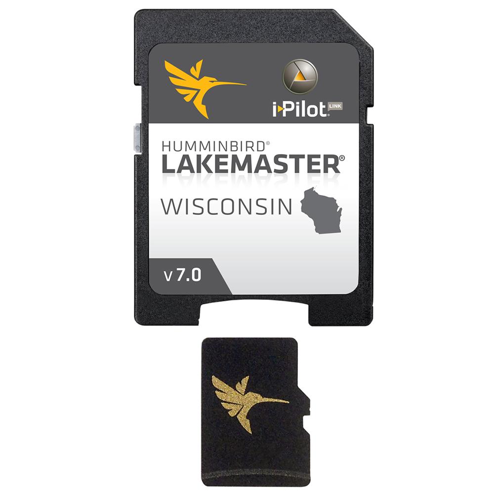 Humminbird LakeMaster Wisconsin - Version 7.0 - MicroSD/SD™
