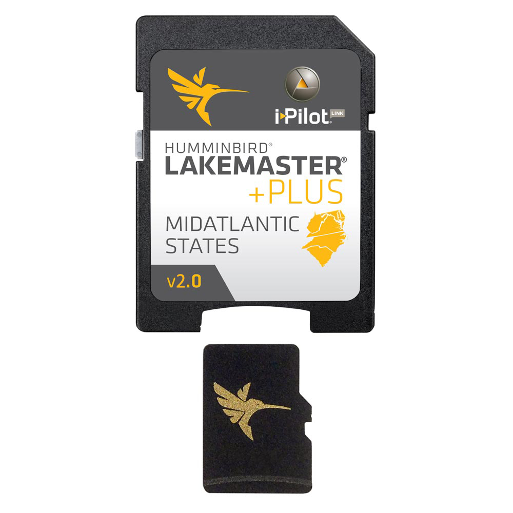 Humminbird LakeMaster Mid Atlantic States PLUS - MircoSD™ - Version 2.0