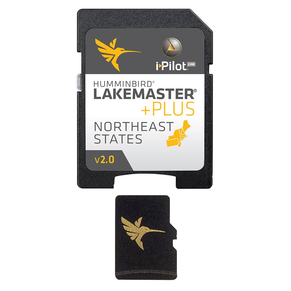 Humminbird LakeMaster Chart NorthEast States PLUS - MicroSD™ - Version 2