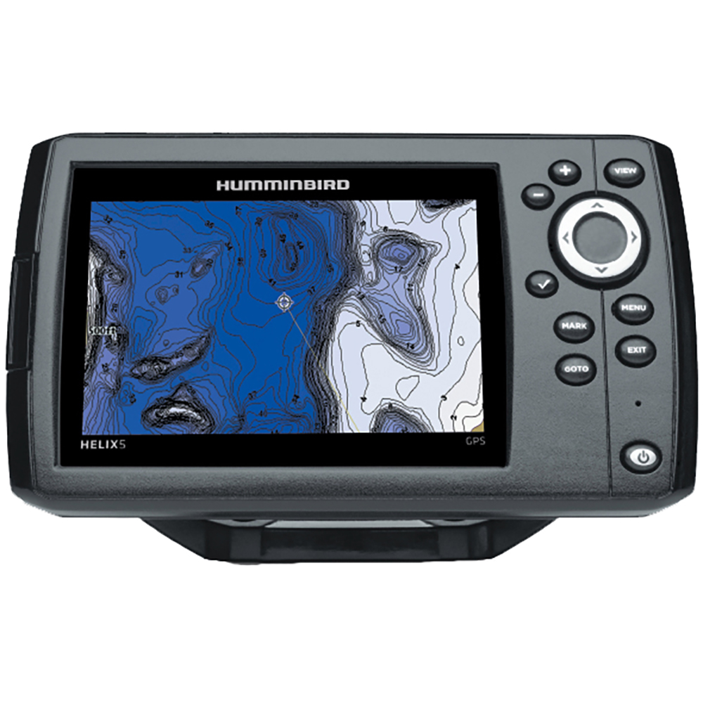 humminbird helix 5 gps chart plotter only ebay. Black Bedroom Furniture Sets. Home Design Ideas