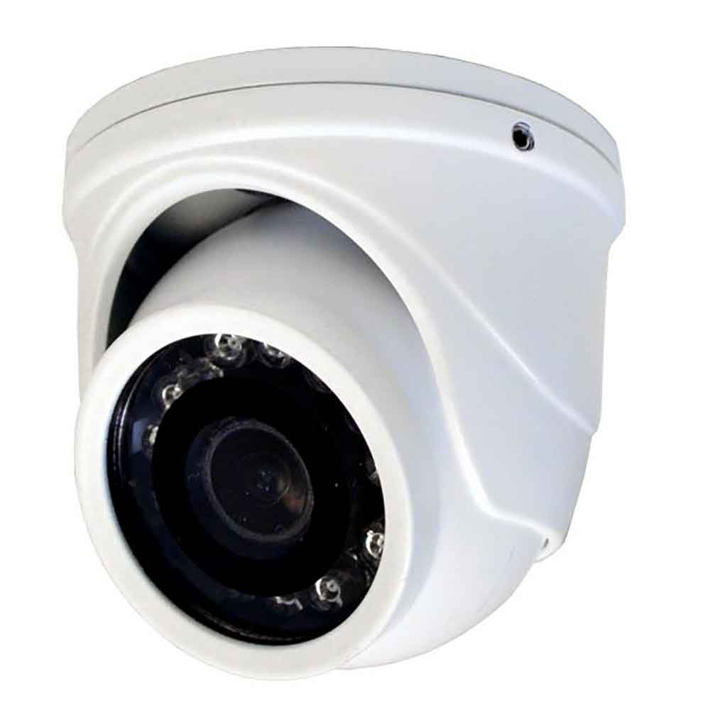 Speco HD-TV1 1080p Indoor/Outdoor Mini-Turret Color Camera 2.9mm Fixed Lens - White Housing