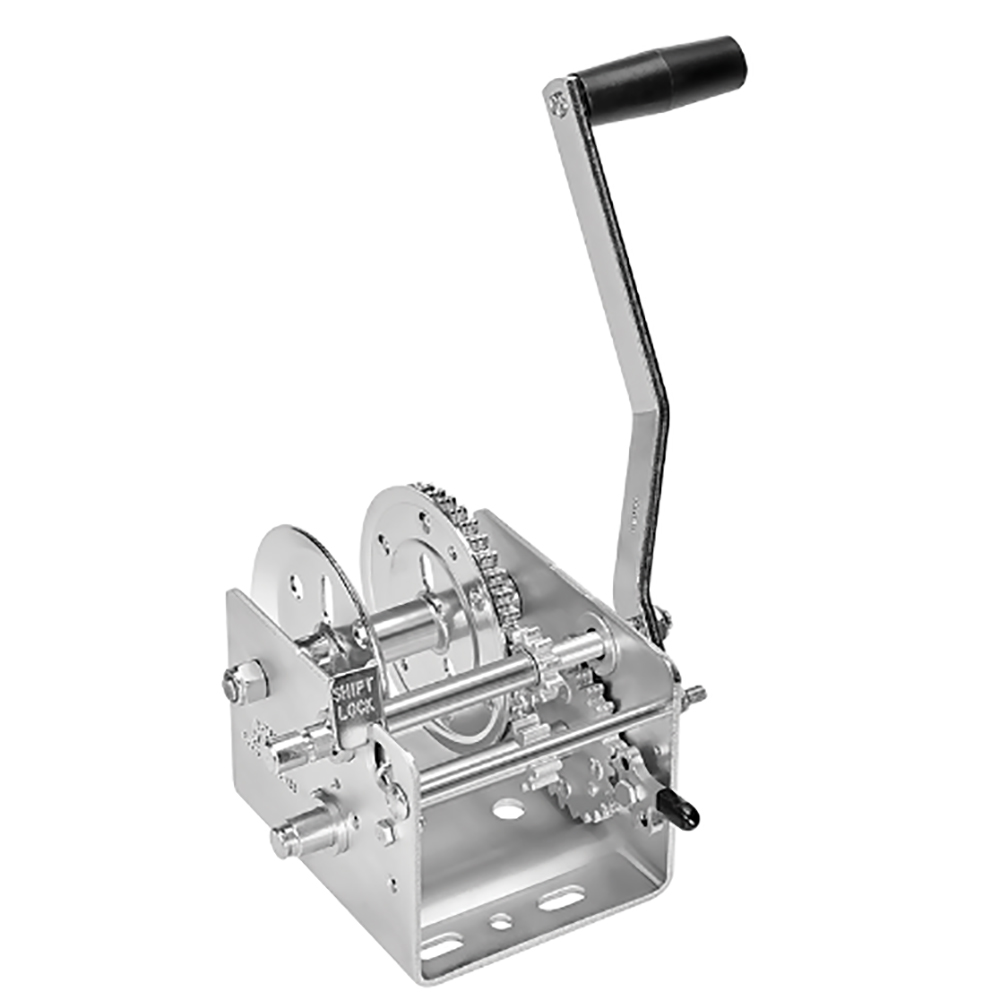 Fulton 2600lb 2-Speed Winch - Strap Not Included