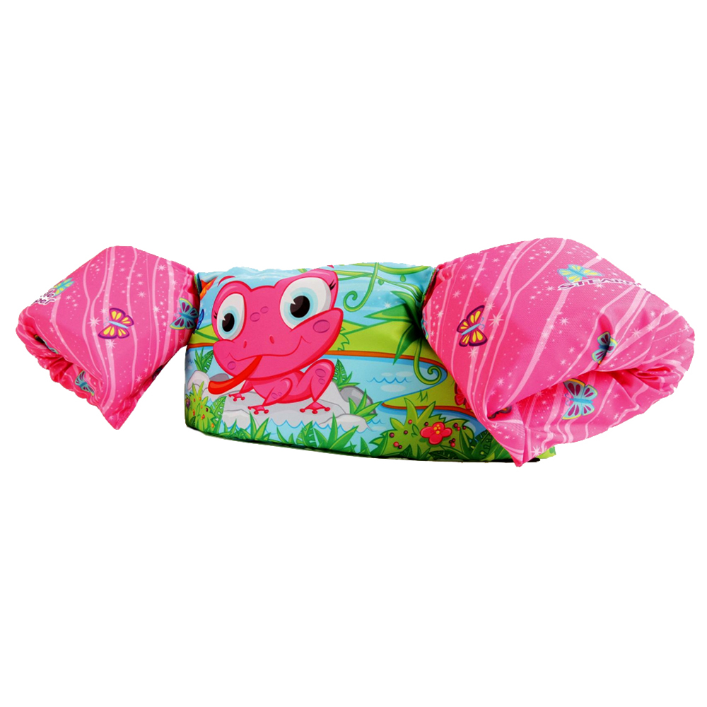 Stearns Puddle Jumper Deluxe - Pink Frog