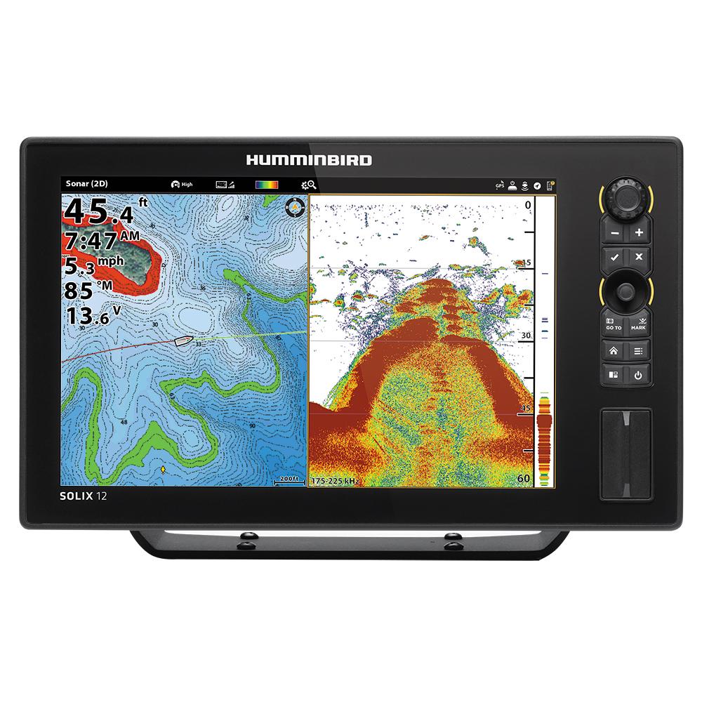 Humminbird Solix 12 Chirp GPS Color Fishfinder GPS