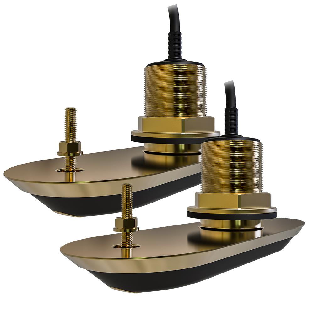 Raymarine Rv 220 Realvision 3d Bronze Thru Hull Transducer