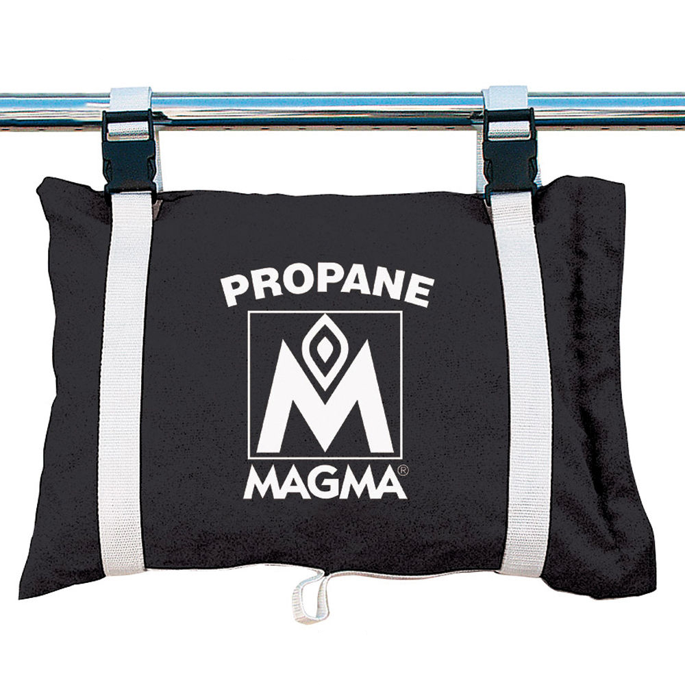Magma Propane /Butane Canister Storage Locker/Tote Bag - Jet Black