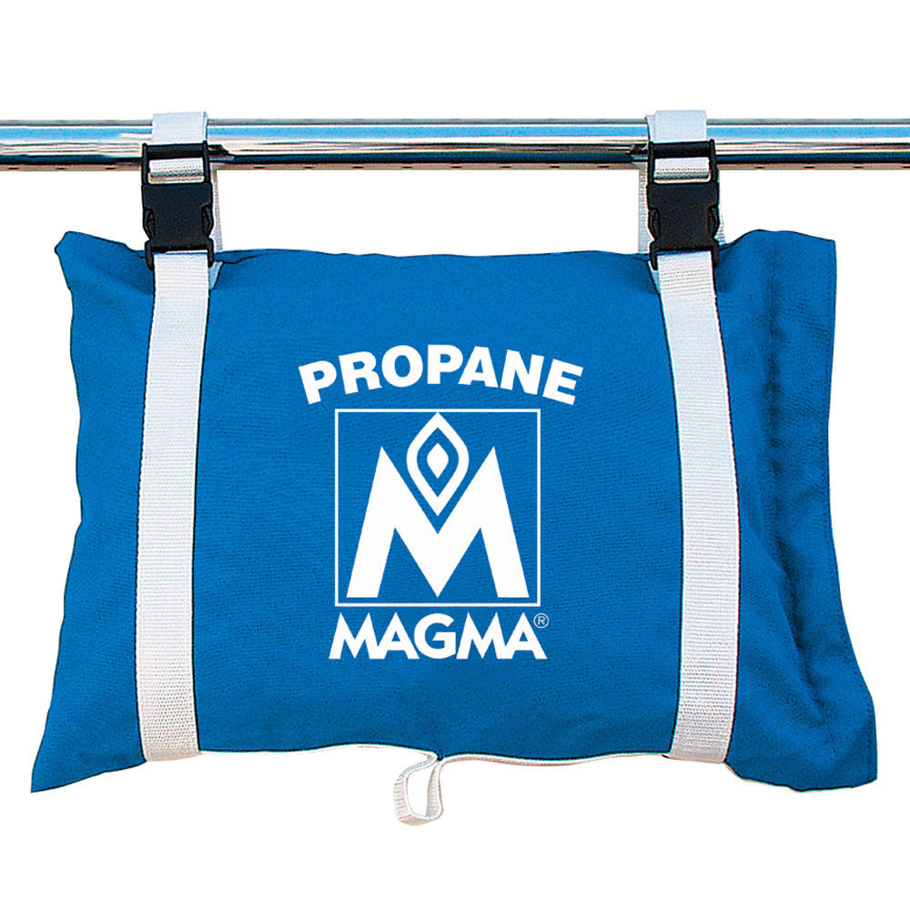 Magma Propane /Butane Canister Storage Locker/Tote Bag - Pacific Blue