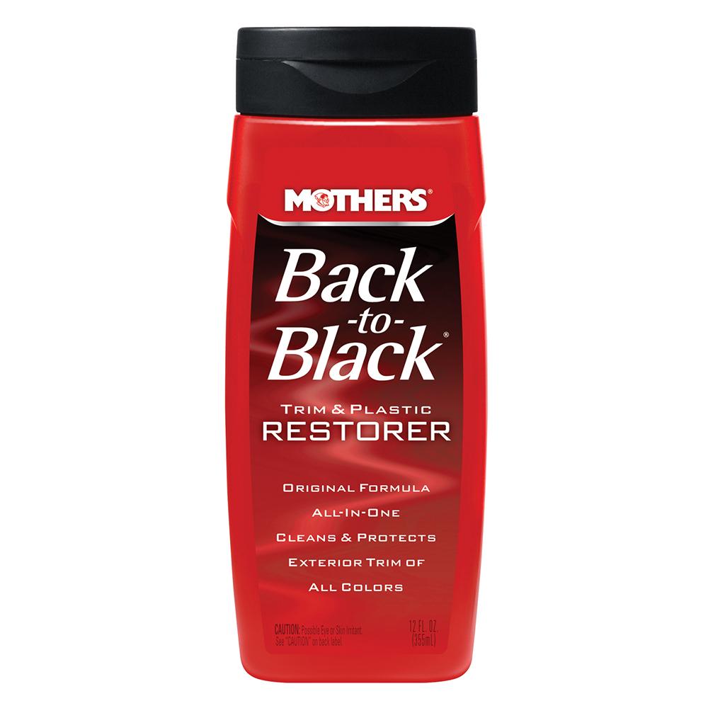 Mothers Back-to-Black® Trim & Plastic Restorer - 12oz