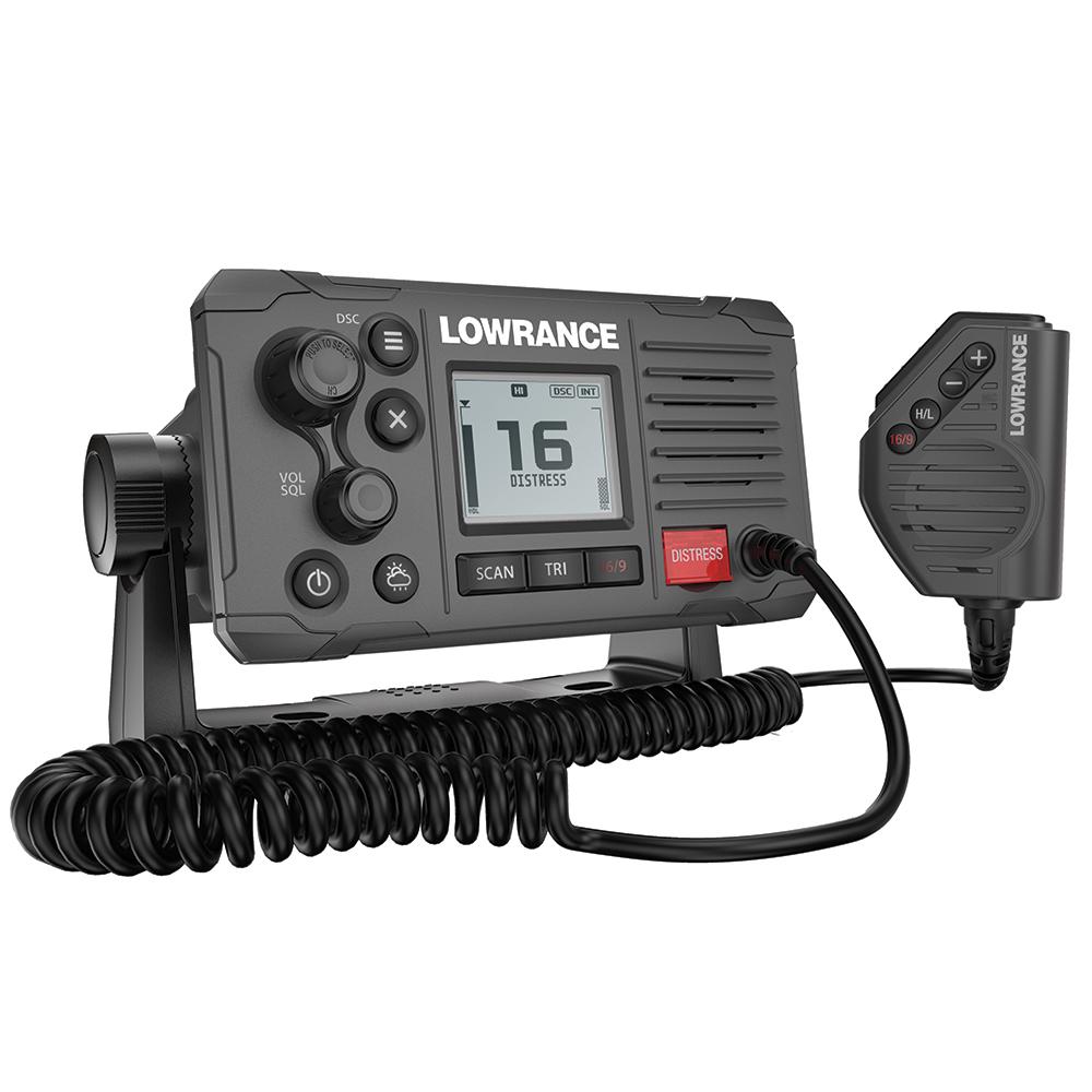 Lowrance Link-6 VHF Marine Radio w/DSC - Grey
