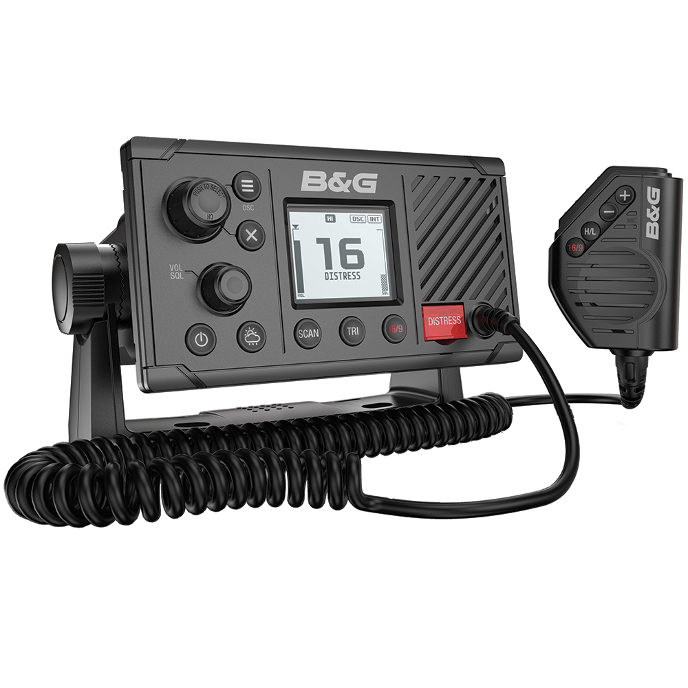 B&G V20 VHF Fixed Mount Marine Radio w/DSC