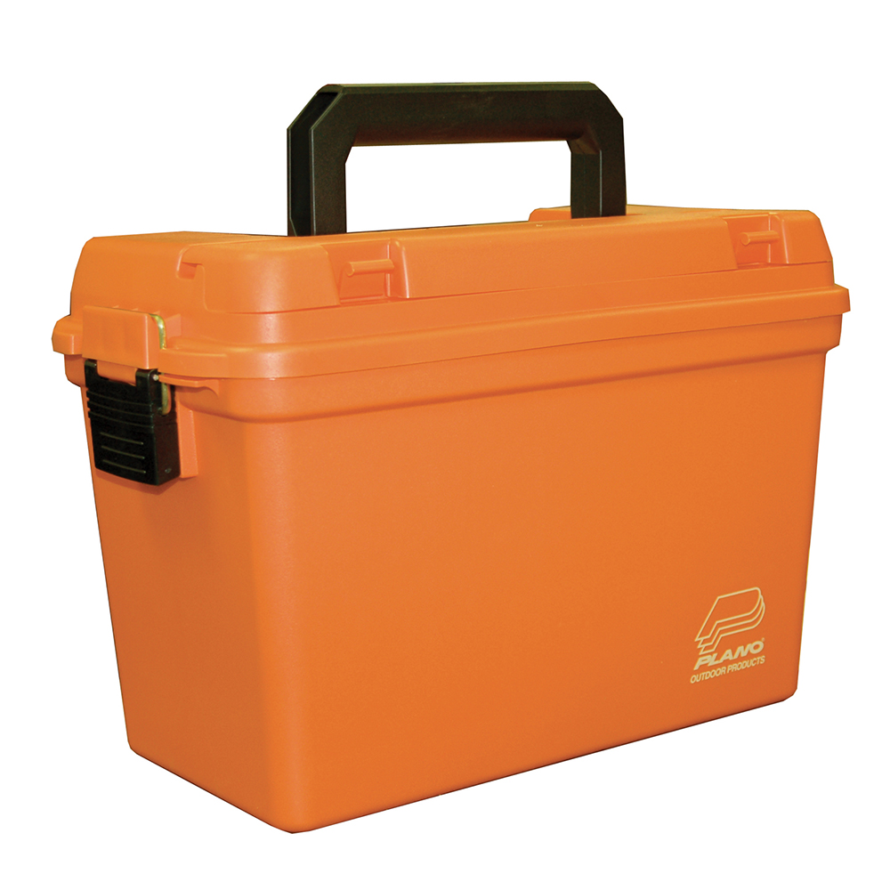 Plano Deep Emergency Dry Storage Supply Box w/Tray - Orange