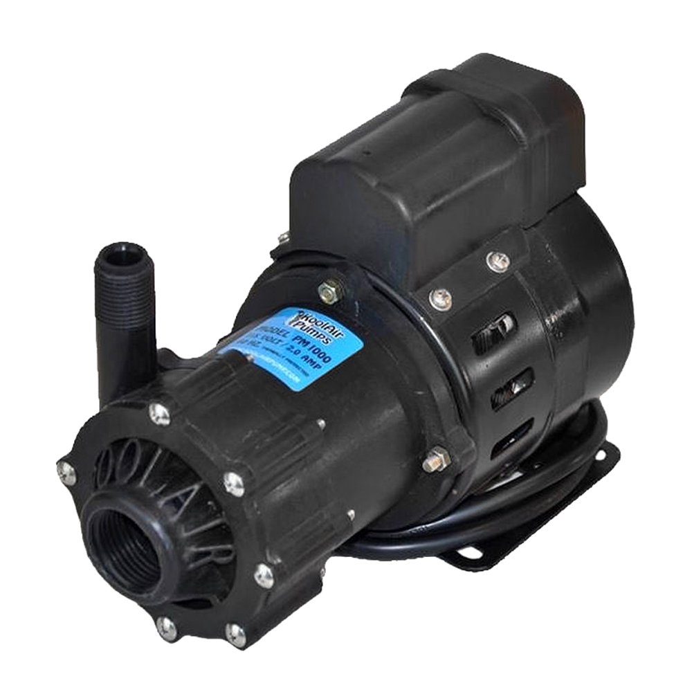 Webasto KoolAir PM1000 Sea Water Magnetic Drive Pump - Run Dry Capability - NOT Submersible - 115V