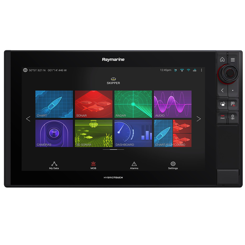 Raymarine Axiom Pro 16 RVX MFD w/RealVision 3D and 1kW CHIRP Sonar - LNC Vector Chart