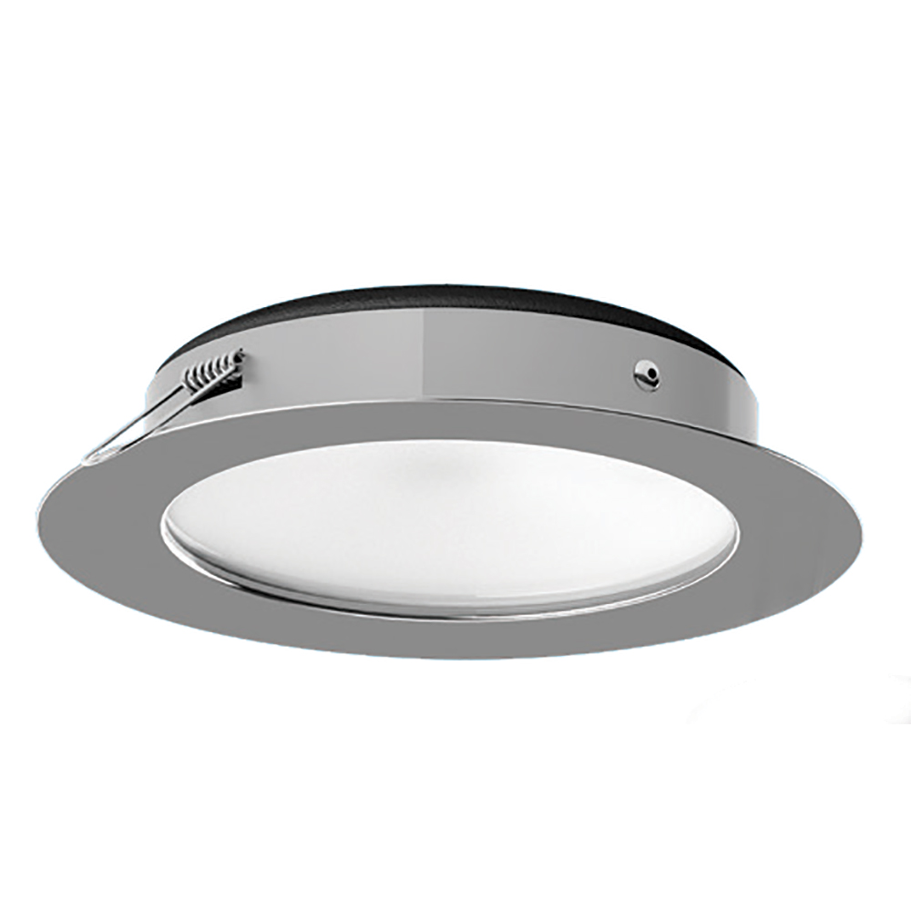 i2Systems Apeiron™ PRO XL A526 Tri-Color, 6W, Dimming, Recessed LED - White Round - Cool White/Red/Blue