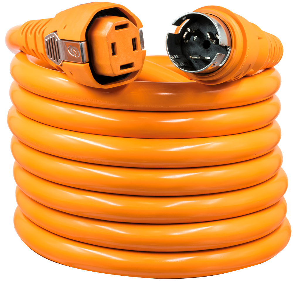 SmartPlug 50 Amp 25' Dual Configuration Cordset w/Tinned Wire & Marina Park Power End