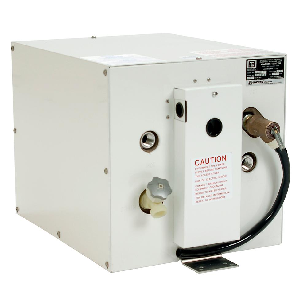 Whale Seaward 6 Gallon Hot Water Heater - White Epoxy - 120V - 1500W