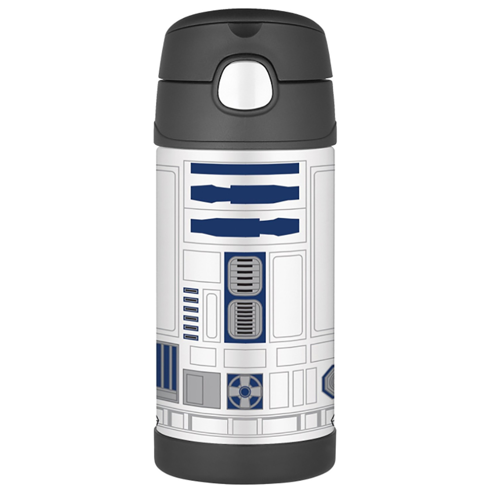Thermos FUNtainer™ Stainless Steel, Insulated Straw Bottle - Star Wars - 12 oz.