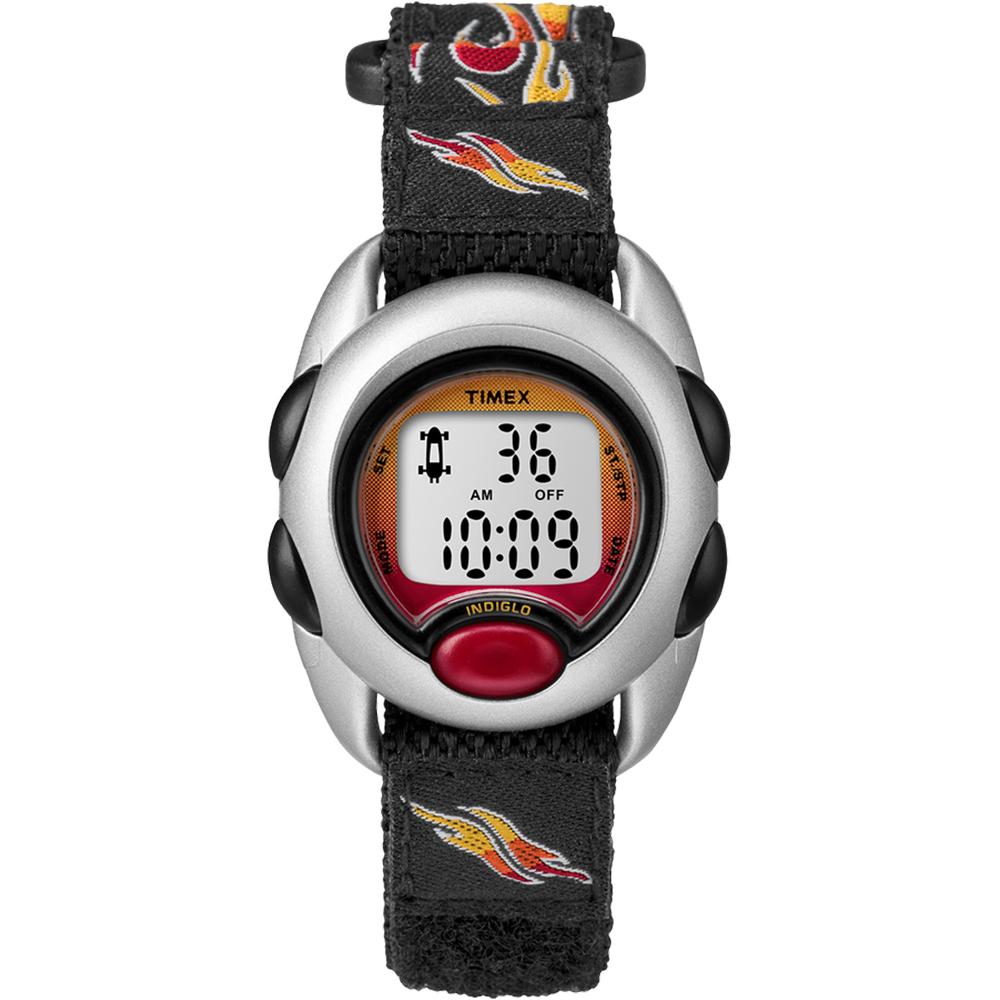 5fa1ca9baad9 Timex Kid s Digital Nylon Band Watch - Flames