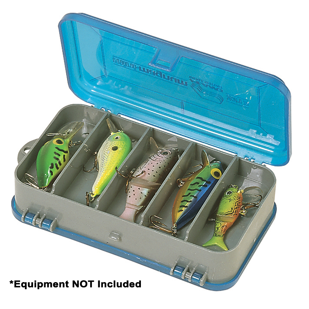Plano Double-Sided Tackle Organizer Small - Silver/Blue