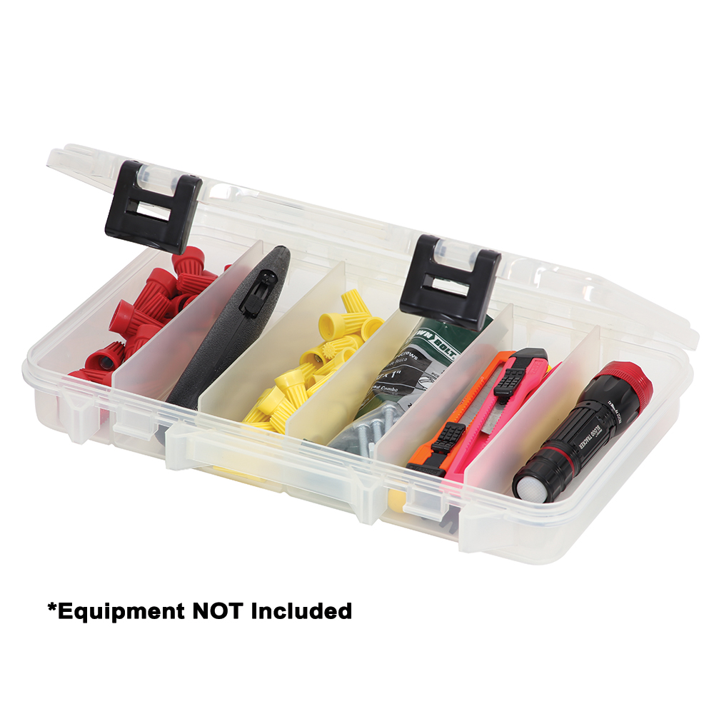Plano ProLatch® Six-Compartment Stowaway® 3600 - Clear