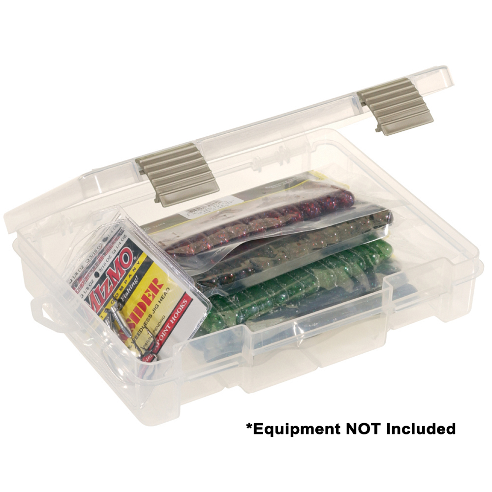Plano ProLatch® Open-Compartment Stowaway® Half-Size 3700 - Clear