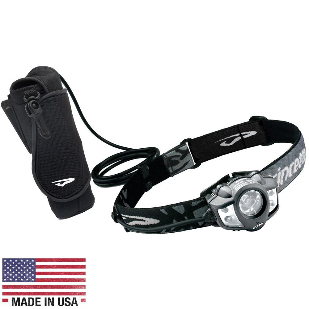 Princeton Tec Apex Extreme 550 Lumen LED Headlamp - Black