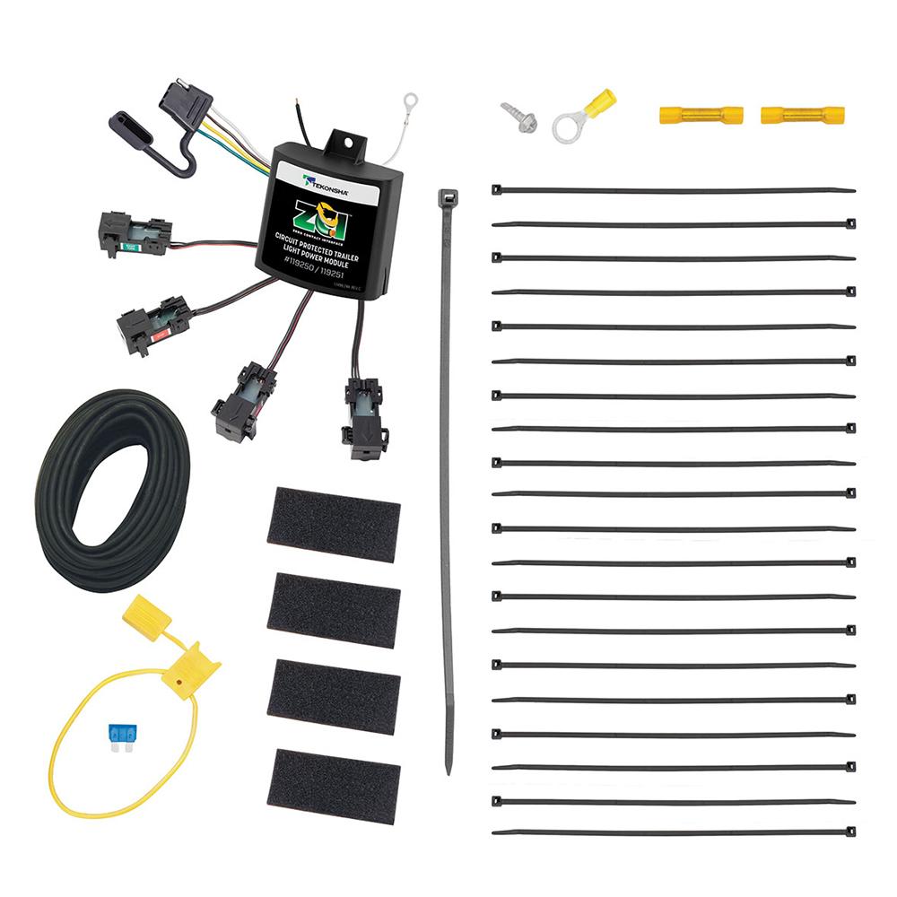 Tekonsha ZCI™ Zero Contact Interface Universal ModuLite® & Installation Kit