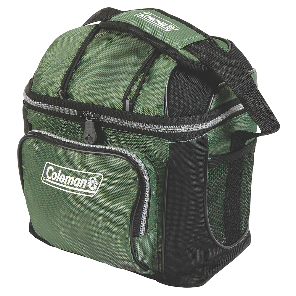 Coleman 9 Can Cooler - Green