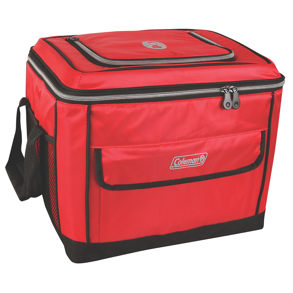 Coleman 40 Can Collapsible Cooler - Red