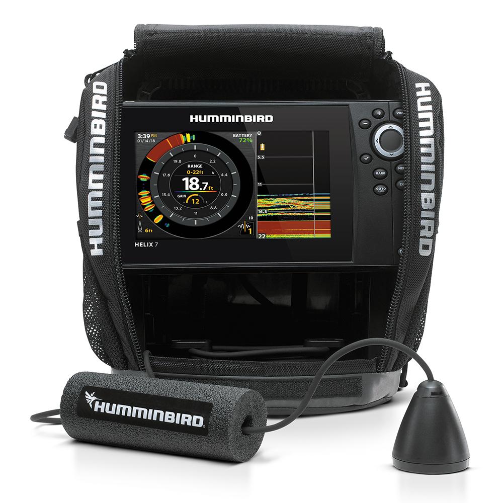 Humminbird ICE HELIX 7 CHIRP GPS/Sonar Combo G2 - 410980-1