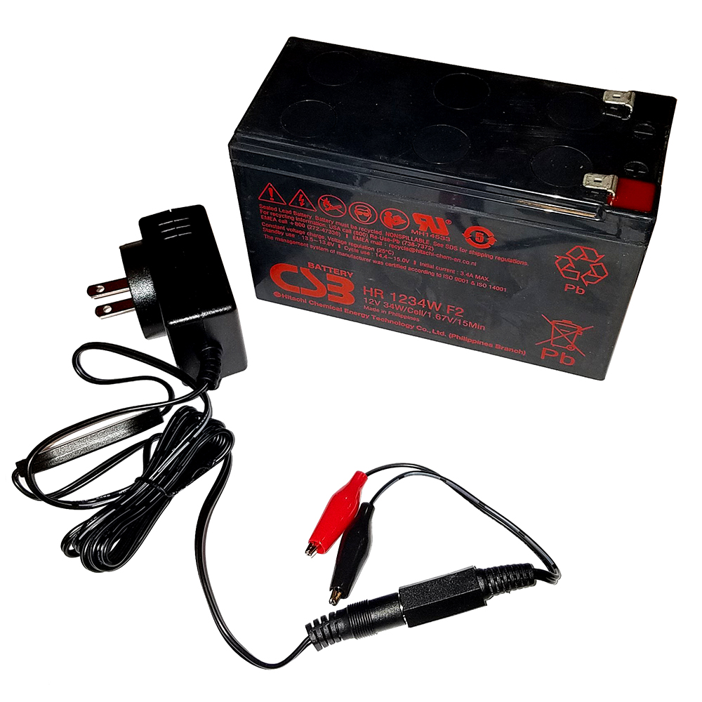 Humminbird 9Ah 12V AGM Battery Kit - 770030-1